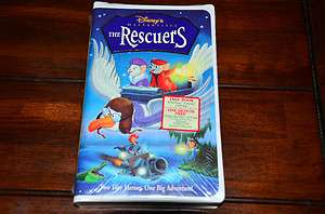 The Rescuers (VHS, 1998) NEW UNOPENED 786936079722