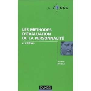 de la personnalité (9782100517565): Jean Luc Bernaud: Books