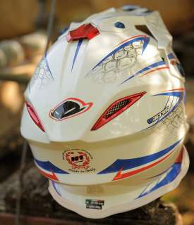 NEW EXCLUSIVE UFO MOTOCROSS/ENDURO HELMET MEDIUM HE005