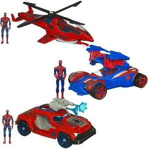 Spider Man Battle Vehicles Wave 3 Revision 1 Toys & Games
