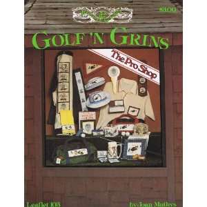 Grins Cross Stitch (Princess Designs, Leaflet 103): Joan Mathys: Books