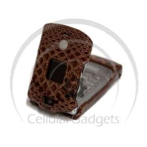 PREMIUM BROWN SNAKE SKIN Faceplate / Case / Cover for