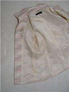 ALEX MARIE Womens Tweed Blazer Jacket Coat Suit 24W 24 Hook Closure