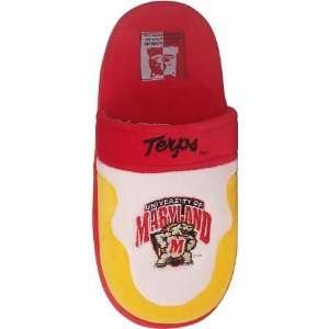 University of Maryland Terps Mens House Shoes Slippers