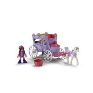 FISHER PRICE PRINCESS PRECIOUS PLACES SWAN CARRIAGE Toys