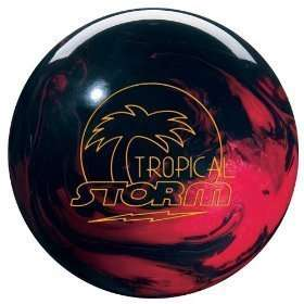 16# Tropical Storm Bowling Ball Red/Black NEW IN BOX