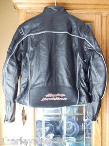 Harley Davidson Leather Jacket Perforated Atmosphere XL
