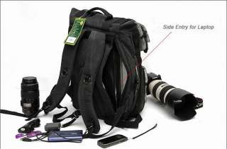 SLR DSLR Camera Laptop Backpack Traveling Bag Canon EOS Nikon Sony
