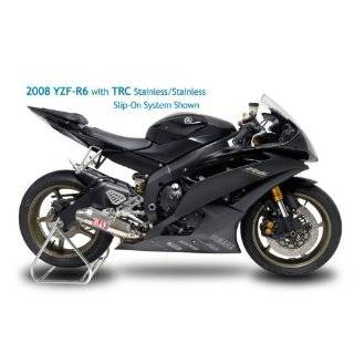 06 12 YAMAHA YZF R6 YOSHIMURA TRC SLIP ON EXHAUST   STAINLESS STEEL