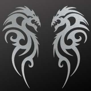 Tribal tattoo design Decal Sticker Dragon Art WRSXW