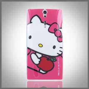Red hard case cover for Sony Ericsson Xperia S Arc HD LT26i Cell
