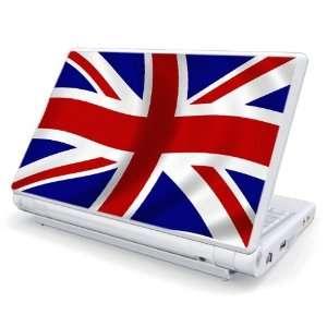 UK Flag Decorative Skin Cover Decal Sticker for MSI Wind U100 Netbook