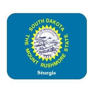 US State Flag   Sturgis, South Dakota (SD) Mouse Pad