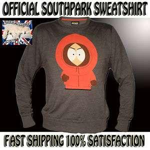 Mens Boys South Park Kenny Sweatshirt Size XS S M L XL XXL Official