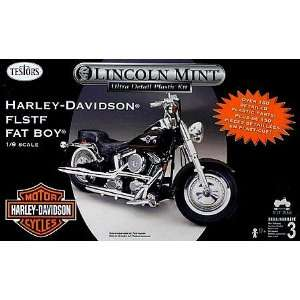 1/9 FLSTF HARLEY MOTORCYCLE FAT BOY Toys & Games
