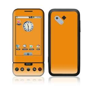 Simply Orange Decorative Skin Cover Decal Sticker for HTC T Mobile