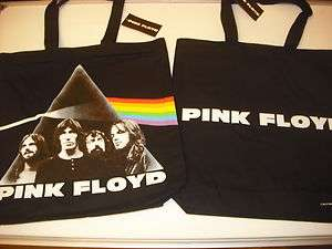 Pink Floyd Dark Side of The Moon Official Tote Bag NEW