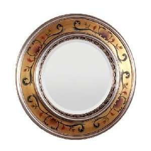 Large Wall Mirrors with Silver and Gold Hand Painting