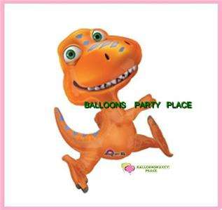 Dinosaur Train Buddy Birthday party bouquet balloons decoration mylar