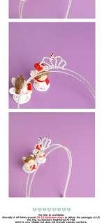 Princess Tiara Headband Hair bow Pettiskirt Baby Girls