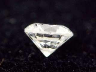 24 ct loose Round Brilliant Cut White Diamond SI2 H