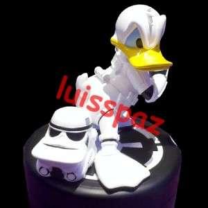 DISNEY Star Wars Tours Donald Duck Stormtrooper Statue w/ pin BIG FIG