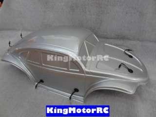 King motor painted VW Volkswagen Bug, Buggy Body Fits HPI 5T SC T1000