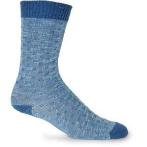 Womens Tic Tac Toe Merino Wool / Bamboo Crew Sock [Set of