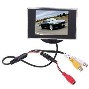 3.5 Hign Definition Car Color TFT LCD Monitor Rearview