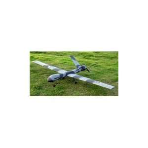 4 Channel Predator/Reaper UAV Drone RC Plane Kit: Toys & Games