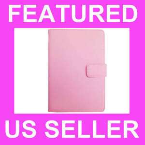 NookColor Leather Case Cover Jacket PINK
