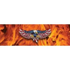 Eagle Attack Rear Window Graphic Automotive