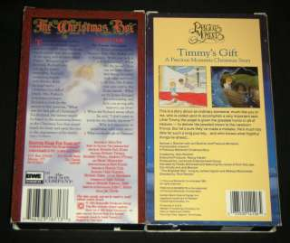 TIMMYS GIFT A PRECIOUS MOMENTS CHRISTMAS STORY & The Christmas Box