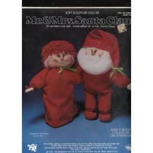 Mr. or Mrs Santa Claus Soft Sculpture Doll Kit Arts, Crafts & Sewing