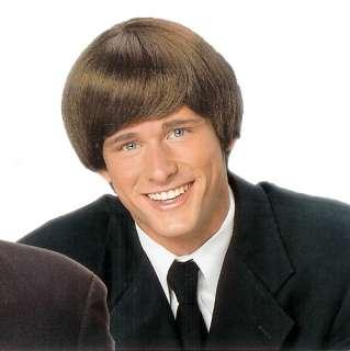 60s MOD John MOP TOP Fab 4 Style Wig Brown