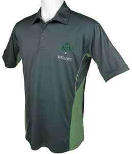 Breathlite Irish Sprig Shamrock Polo Shirt by Live For Rugby
