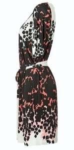 Tibi Flamingo Multi Belted Dress  NWOT$290  S