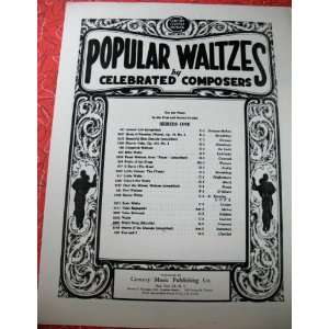 Waltz Song   from Mireille (Popular Waltzes by Celebrated