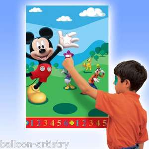 14 Piece Disney Mickey Mouse Clubhouse Party Game Set