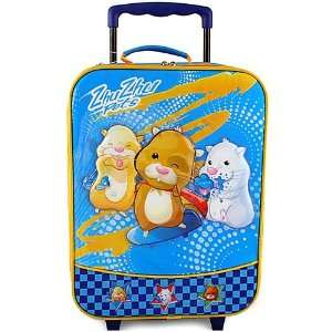 Zhu Zhu Pets Rolling Luggage Case [Blue]: Toys & Games