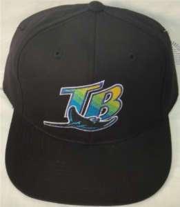 TAMPA BAY RAYS MLB YOUTH FLATBILL SNAPBACK HAT CAP