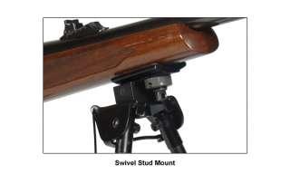 Tactical BLACK Gun Bipod Sniper Rifle Rail Adjustable 12