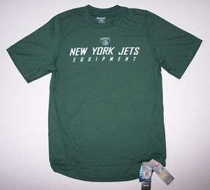 New York Jets NFL Equipment Dri Fit Shirt Size Large