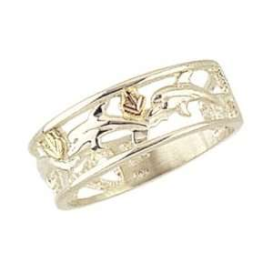 Beautiful! Sterling silver Yellow gold Black Hills Gold