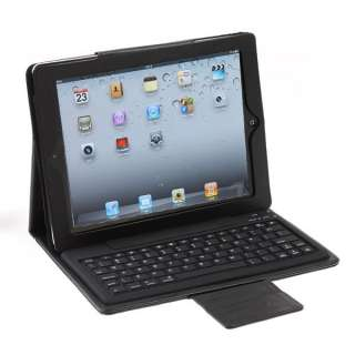 Keyboard Leather Case Cover Stand For Apple iPad 2 New iPad 3