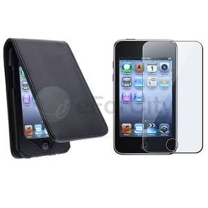 FOR APPLE IPOD TOUCH ITOUCH 3G LEATHER CASE COVER + SG