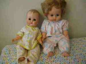Vintage VOGUE GINNY Baby and BETSY WETSY Ideal Doll