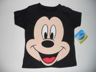 MICKEY MOUSE Boys 2T 3T 4T 5T Short Sleeve SHIRT Top DISNEY