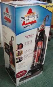 New Bissell PowerClean Multi cyclonic RED Upright Powerful Vacuum