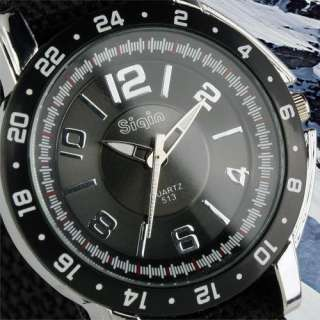 Canvas Strap Man Mens Analog Black Style Military Sport Quartz Watch